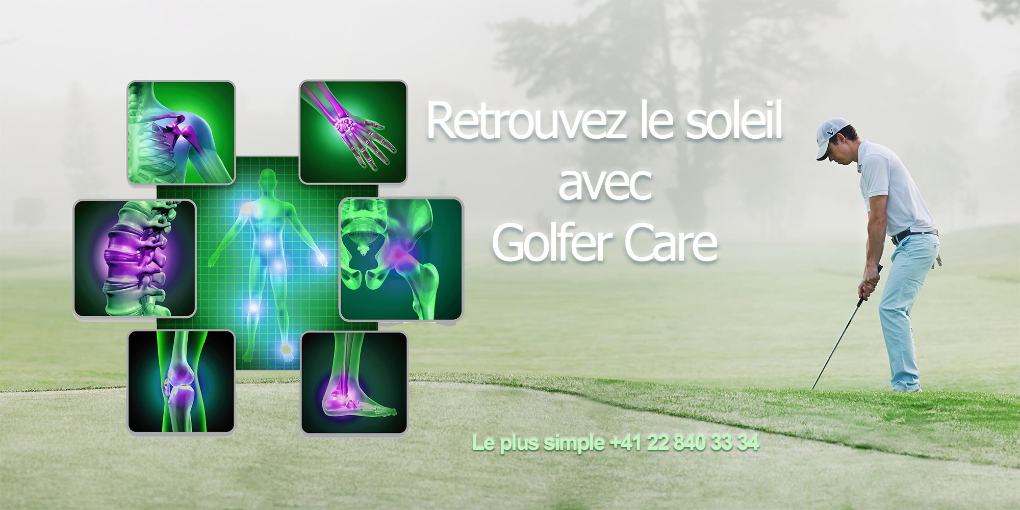 Golfer Care soleil